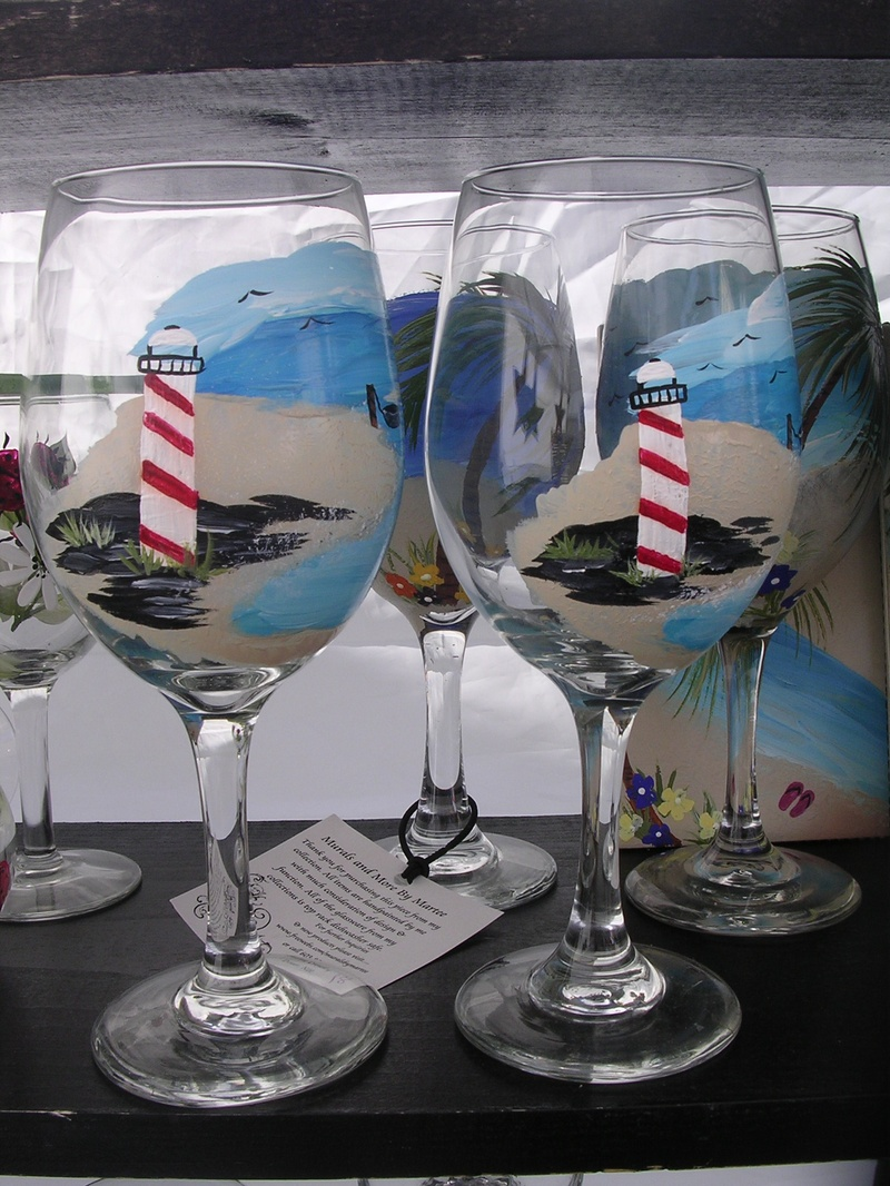 Hand painted designs by martee hand painted glassware Designer wine glasses uk